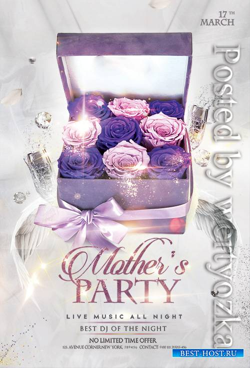 Mothers Day - Premium flyer psd template