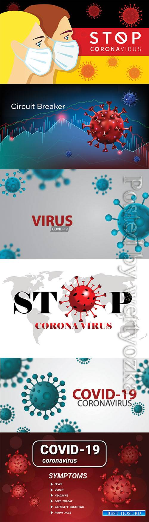 Pandemic coronavirus or covid-19 virus effect to stock market business