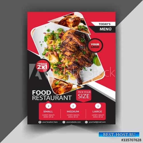 Food restaurant poster