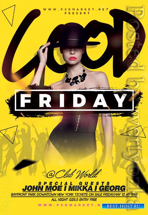 Good friday - Premium flyer psd template