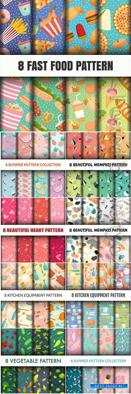 Beautiful seamless vector pattern # 2