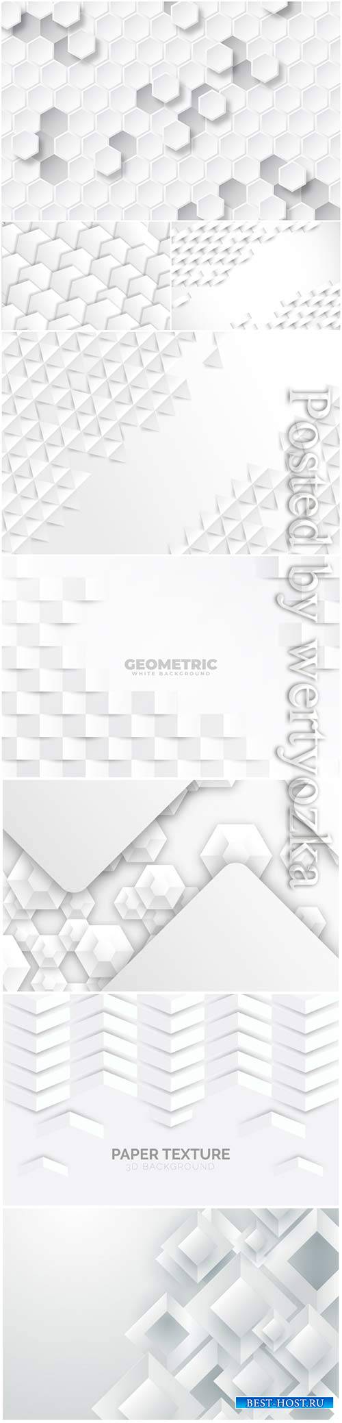 Abstract vector background, 3d models template # 2