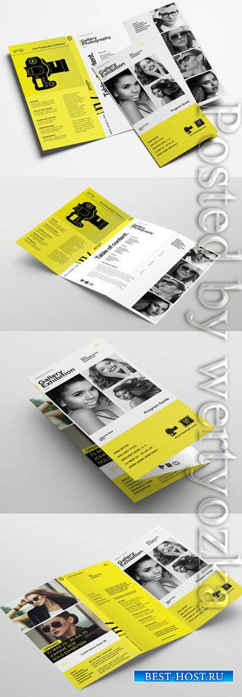 Brochure Layout for Photographers and Photography Exhibitions 323035753
