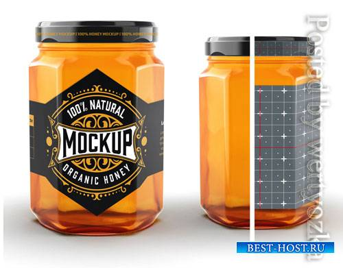 Honey Jar Mockup 322842591