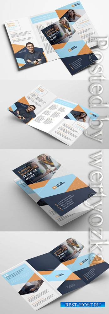 Business Trifold Brochure Layout 322611438