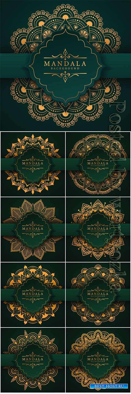 Ramadan style decorative vector mandala