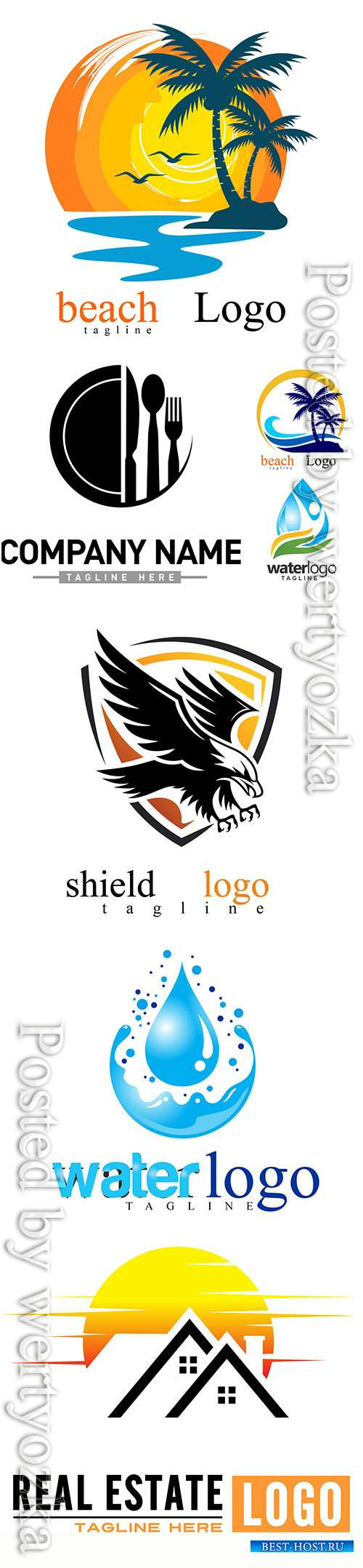 Logo vector design illustration