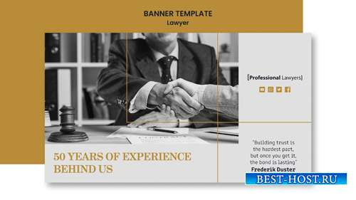 Banner law firm template
