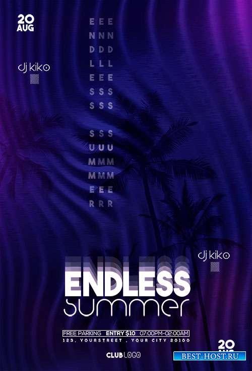 Endless Summer vol2- Premium flyer psd template