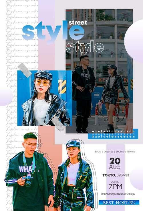 Fashion Week  - Premium flyer psd template