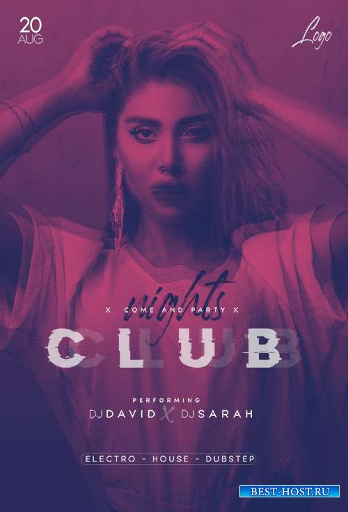 Club Nights - Premium flyer psd template