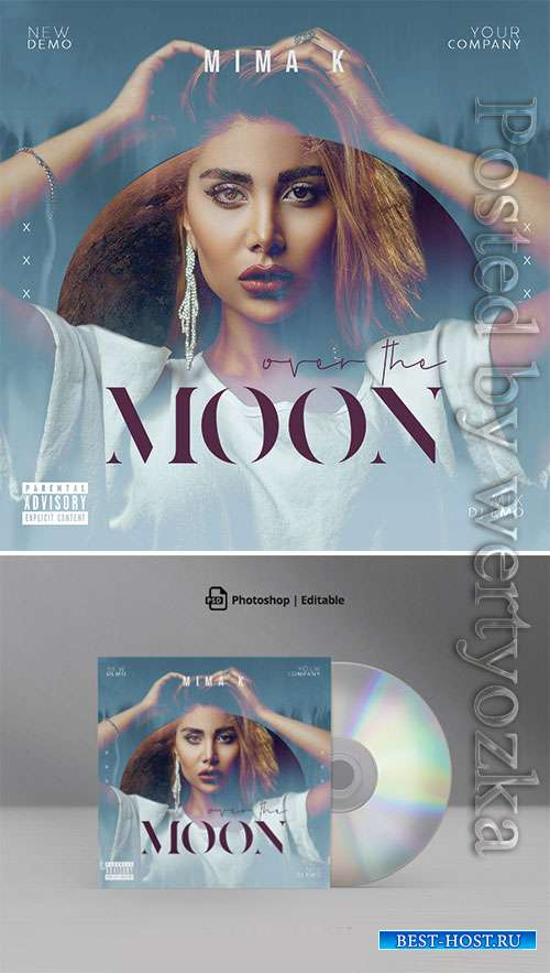 Over The Moon CD Cover Artwork