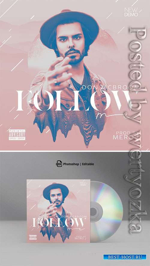 Follow Me Mixtape CD Cover Artwork